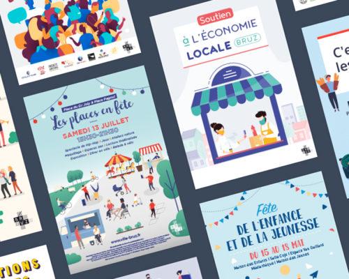 Posters/creations (Bruz City)